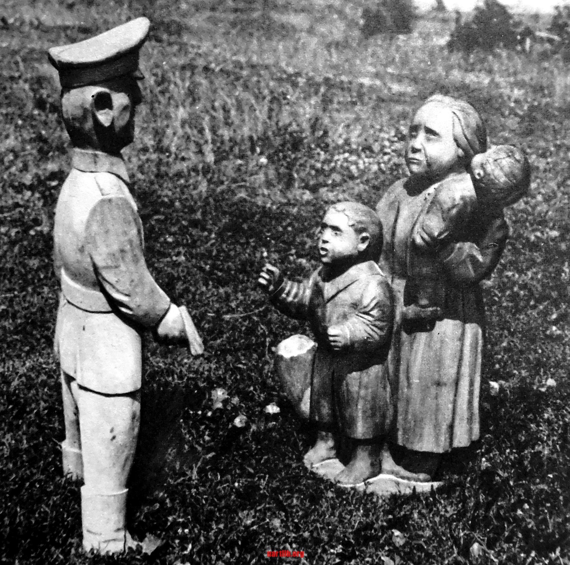 Антон Штепа. Розстріл. Дерев`яна скульптура. 1967 рік. Фото Ігоря Гільбо.