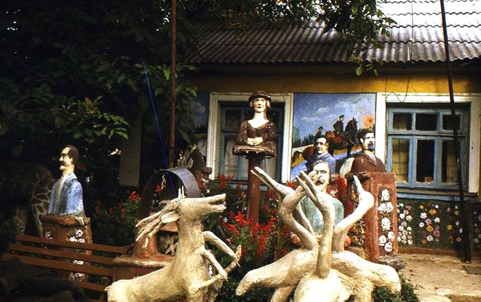 Станіслав Сарцевич і його сад цементних скульптур