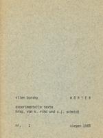Vilen Barsky (Вілен Барський). Wörter (Слова)